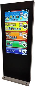 LogicWash Digital Menu Display