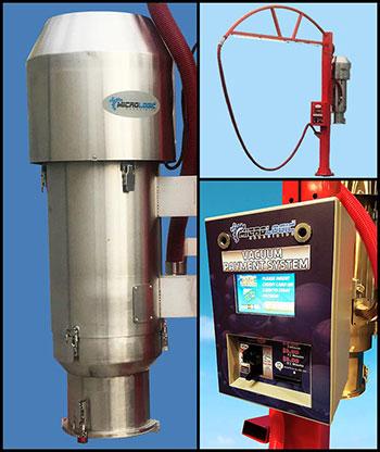 LogicWash Vacuum system