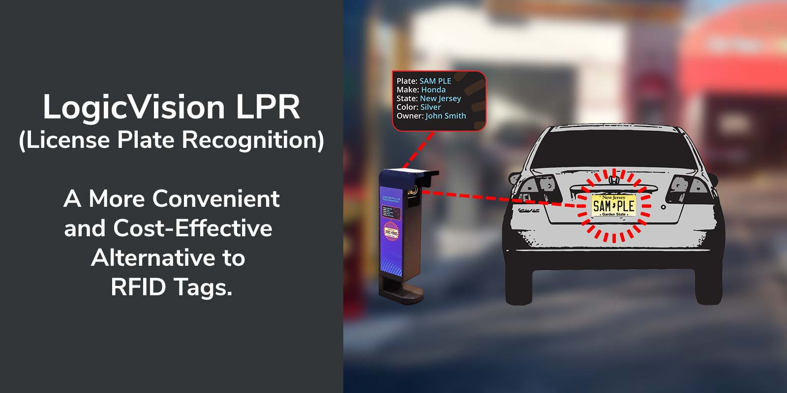 LogicVision LPR License Plate Recognition System